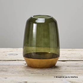 Contemporary Green Vase